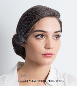 White Hairnet